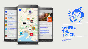 where truck food truck finder andriod by where