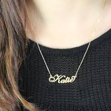 get name necklace nameplate bar personalized necklace bar products and