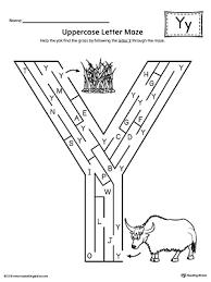 letter y review worksheet myteachingstation com