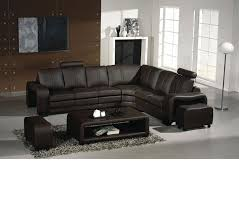 Modern Leather Sectional Sofas Dreamfurniture Com Divani Casa 3330 Modern Leather Sectional