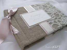 sonogram photo album photo album burlap and lace choose your own ribbon color from