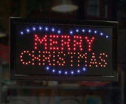 led merry christmas light sign led neon lighted merry christmas sign amazon co uk office products
