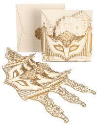 masquerade wedding invitations laser cut wedding invitations weddings illustrated