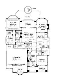 Great House Floor Plans Great Floor Plan Southern Living House Plans Pinterest