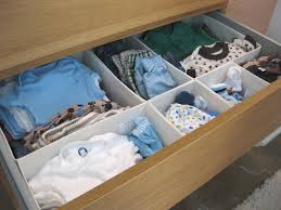 baby nursery minimalist closet and drawer organizer for baby