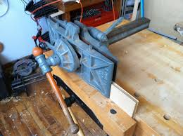 Mounting A Bench Vise James Watriss Emmert Revisited And A Summation Of The Process To
