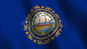 New Yorks Flag New Hampshire Flag New Hampshire State Flag Seamless Loop