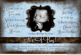 baby boy baby shower invitations baby shower invitation blue to be s