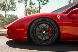 ferrari 488 gtb ag luxury wheels ferrari 488 gtb forged wheels