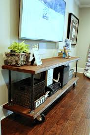 big screen tv cabinets wall units best homemade tv stand how to build an industrial