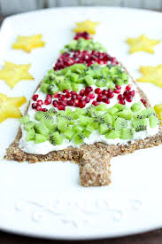 christmas tree dessert pizza happy healthy mama