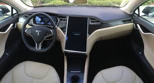 Tesla Carbon Fiber Interior Naias Tesla Model X Debuts An In Car Control Centre Tesla S