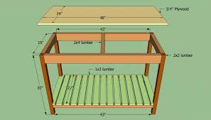 kitchen island table plans diy kitchen island plans