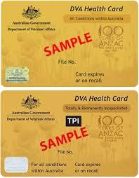 veterans health cards department of veterans affairs