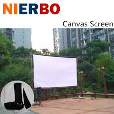 home theater screen fabric compare prices on projection screens portable online shopping buy