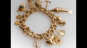charm bracelet gold vintage images Estate 14k yellow gold vintage charm bracelet jpg