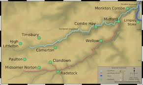 Somerset England Map Somerset Coal Canal Wikiwand