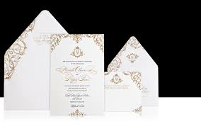 wedding invitations in palais luxury wedding invitations the wedding collection