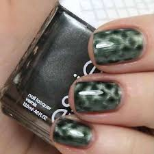 new essie magnetic nail polish in crocadilly metallic hunter
