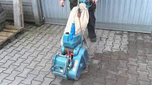 Lagler Hummel Floor Sander by Cykliniarka Kunzle U0026 Tasin Taurus Http Www Klaravik Pl Youtube