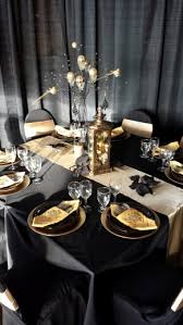 black and gold centerpieces black and gold christmas black gold theme