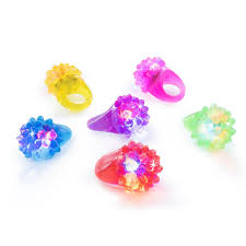 toy finger rings images Kangaroo 39 s flashing led light up toys bumpy rings 18 jpg
