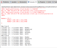 Java Map Example Hazelcast Java Example Heapcode Com