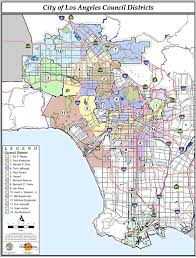 los angeles suburbs map file map of la city council districts png wikimedia commons