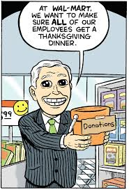 wal mart thanksgiving a walmart thanksgiving u2013 matt bors u2013 medium