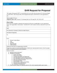 example rfp template for website design development 13 proposal
