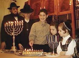 hanukkah clothes four sons four menorahs