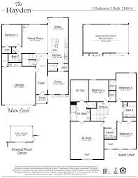 Story And A Half Floor Plans by The Hayden Floor Plan Al New Home Construction Davidson Homes