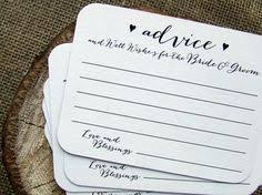 wedding well wishes cards 100 wedding advice cards for the and groom printed cards