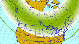 northern lights location map big solar storm means chance to see northern lights in nc myfox8 com