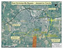 Ky Map East Nicholasville Bypass 7 87 20 7 87 30 U0026 7 87 50