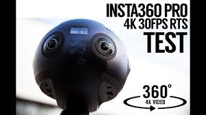 insta360 pro 4k 360 test footage review in camera stitching rts