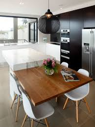 kitchen islands with tables attached best kitchen island attached glamorous dining table kitchen island