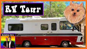 rv living rv tour 1987 winnebago rv remodel rv exterior