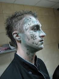 ghost face painting for halloween 25 halloween makeup ideas for men