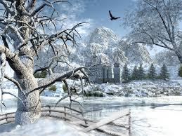 winter scene gorgeous beutiful scenic beautiful live desktop