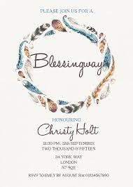 blessing invitation blessingway invitation blessing invite boho blessing