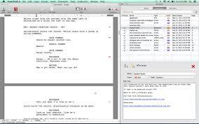 movie script format template eliolera com