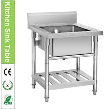 Freestanding Kitchen Sinks - Stand alone kitchen sink