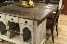 buffet kitchen island from buffet to rustic kitchen island hometalk small rustic island
