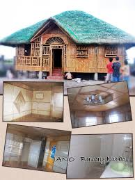 philippines native house designs and floor plans 8x10meters concrete nipahut nipa hut style philippines