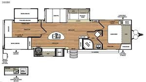 triple bunk travel trailer floor plans new 2017 forest river rv salem hemisphere lite 300bh travel trailer