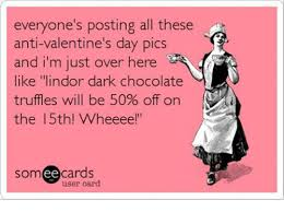 Anti Valentines Day Memes - everyone s posting all these anti valentine s day pics and i m