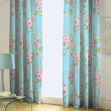 Floral Lined Curtains Catherine Lansfield Home Canterbury Floral Pencil Pleat Lined
