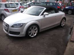 used audi tt 2 0 tfsi exclusive line roadster 2dr 2 doors