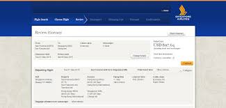 United Airlines Baggage Info Singapore Airlines Airline Reviews And Airline Comparison